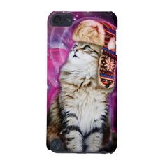 russian cat in space iPod touch 5G case