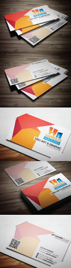 Creative Pro Business Card #businessscards #professionalbusinesscards #personalbusinessscards #creativedesign
