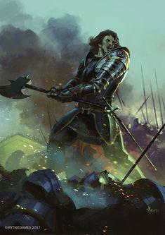 ArtStation - Concepts for Joan of Arc, Bayard Wu