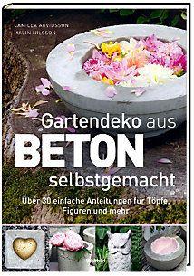 Gartendeko aus Beton selbstgemacht | IdeenSammlung | Pinterest