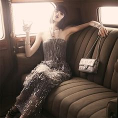 Fashion Ideas Summer Rolls-Royce Jazz Age shoot for Elle Roaring 20s Fashion, Great Gatsby Fashion, Roaring Twenties, Flapper Fashion, Fashion 1920s, Photoshoot Inspiration, Style Inspiration, Gatsby Style, Gatsby Girl