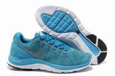 1edde1480054 Blue Womens Nike LunarGlide Anti Fur Shoes 93775 Nike Fashion