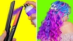 Hair Tutorials For Medium Hair, Easy Updos For Medium Hair, Medium Hair Styles, Long Hair Styles, Sporty Hairstyles, Cool Hairstyles, Beauty Life Hacks Videos, 5 Minute Crafts Videos, Style Simple