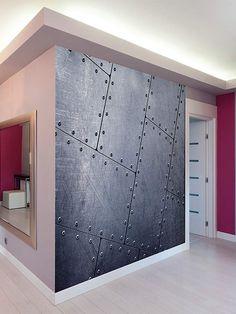 Brewster Tiled Metal Wall Mural  #mural #wallmurals #home #decor #affiliate