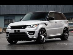 SR Auto Group 2015 Range Rover Sport on PUR Wheels