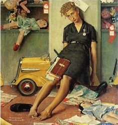 mother's day norman rockwell - Google Search