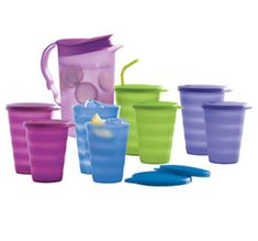 Tupperware Impressions Tumblers. Amberly loves her drip less straw cups and Momma does too. It's the only cup I'll let her have in my car.