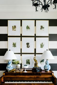 Leaf prints: http://www.stylemepretty.com/living/2015/03/14/25-ways-to-work-green-into-your-home/