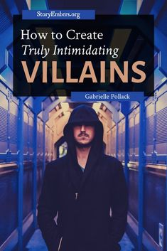 How do you create a villain that's truly intimidating? In her newest article, Gabrielle discusses how we can design an opponent worth the protagonist's time. Villains, writing advice, how to write a villain, Creative Writing Tips, Book Writing Tips, Writing Resources, Writing Help, Writing Prompts, Writing Characters, Fiction Writing, Character Development, Held
