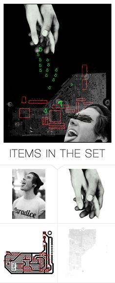 """Get Lucky"" by raamen365 ❤ liked on Polyvore featuring art"