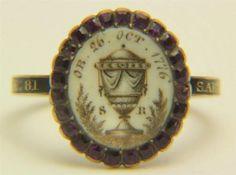 Georgian Memorial Ring Dated 1776