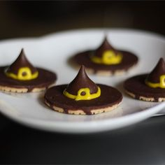 "Witches' Hats | ""So easy! Used them as a cupcake topper and they were a hit! Thanks"""