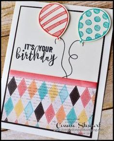 Make It Monday - Balloon Adventure Birthday   Simply Simple Stamping