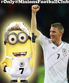 Dit is Bastian Schweinsteiger, hij voetbalt bij Manchester United