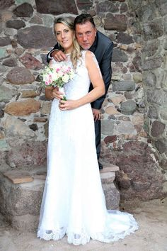 Robe de mariée de www.mariageenrose.fr  Mariage de septembre 2016