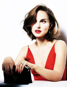 Natalie Portman photographed for Dior's new Rouge Dior.