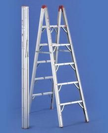 "Global Product Logistics Compact Folding RV Ladder/ we BOUGHT one for our RV, only takes 6""x 6"" width! great fit in the ""basement""."