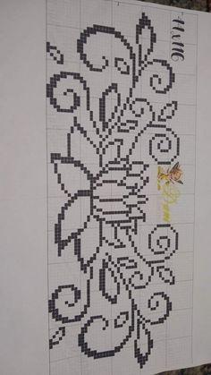 Cross Stitch Baby, Filet Crochet, Craft Work, Cross Stitch Designs, Plastic Canvas, Cross Stitching, Needlework, Bohemian Rug, Embroidery