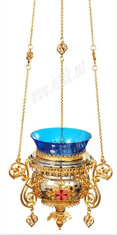 Vigil lamps: Oil lamp no.86 - Istok Church Supplies Corp. Light Of The World, Gold Gilding, Glass Containers, Burning Candle, Oil Lamps, Byzantine, Clear Glass, Prayer, Antiques