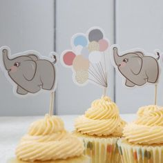 Little One Cupcake Toppers