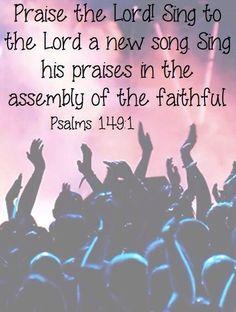 Image result for Psalm 149 vs 1
