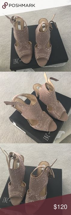 INC Studded Sandals, 9.5 Great, stylish shoes! INC International Concepts Shoes Heels