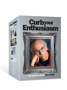 Seasons 1 to 8 of Curb Your Enthusiasm on DVD! THE funniest man alive!