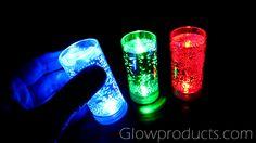 Light Up LED Shot Glasses  https://glowproducts.com/us/light-up-led-shooters