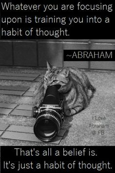 Belief is just a habit of thought