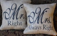 Mr.& Mrs. Pillows