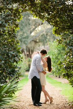 Tampa/Lake Wales Engagement Shoot - Bok Tower Gardens - Justin Demutiis