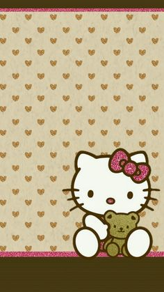 NikkiBsDesignz: Hello Kitty & Teddy Walls