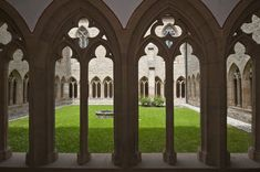 Cloister of Augustinian Monastery, Erfurt. Martin Luther became a monk on July 17, 1505.