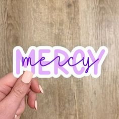 Purple Personalized Name Sticker Personalized Stickers, Personalized Products, Custom Stickers, Name Stickers, Waterproof Stickers, Great Gifts, Names, Messages, Purple