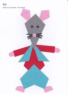 Rat (kikker en zijn vriendjes) - vlieger