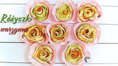 Pieczone warzywne różyczki