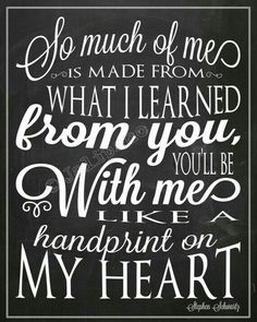 "Wicked Quote - Handprint on My Heart ""For Good"" Personalized Printable Farewell Graduation Moving Friendship Friend Gift Wall Art Nanny Great Quotes, Quotes To Live By, Me Quotes, Inspirational Quotes, Friend Quotes, Motivational, Mommy Quotes, Quick Quotes, The Words"