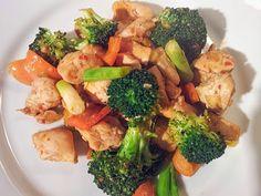 red or green?: Szechuan Broccoli & Chicken