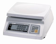 CAS SW-10 Food Service Scale, 10 x 0.005 lbs, Kg/g/Oz/Lb Switchable, Single Display, Legal for Trade