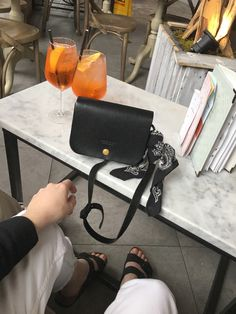Natural leather, timeless little black bag Natural Leather, Personal Style, Crossbody Bag, Bags, Instagram, Handbags, Taschen, Purse, Shoulder Bags