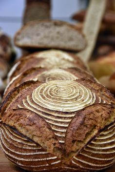 Formation Lesaffre - Septembre 2016 à Atelier m'alice - par Mickaël Chesnouard, MOF boulanger 2011 Hard Bread, Sourdough Bread Starter, Bread Art, Artisan Bread, Bread Rolls, Daily Bread, Tasty Videos, Bread Baking, Bread Recipes