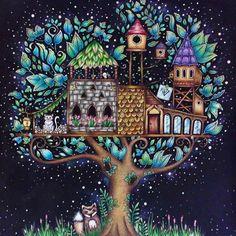 Johannabasford Enchantedforest Enchantedforestcoloringbook