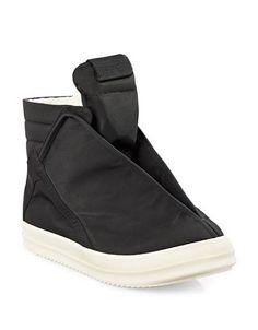 RICK OWENS DRKSHDW Rick Owens DrkshdwHoofdunks Canvas Sneakers. #rickowensdrkshdw #shoes #sneakers