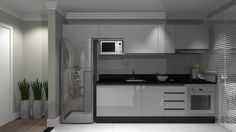Decor: Cozinha linear
