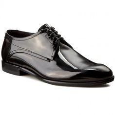 Półbuty BOSS - C-Desspat 50305625 10187503 01 Black 001 Men Dress, Dress Shoes, Derby, Boss, Oxford Shoes, Lace Up, Black, Fashion, Moda