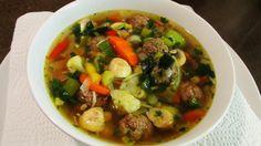 'Goed gevulde' groentesoep