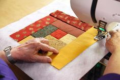 Outstanding 30 Sewing tutorials projects are offered on our website. Check it out and you wont be sorry you did. Nancy Zieman, Sewing Hacks, Sewing Tutorials, Sewing Tips, Sewing Crafts, History Of Quilting, Fat Quarter Projects, Quilt As You Go, Amish Quilts