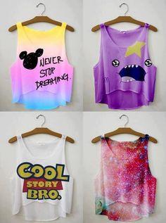 Never stop dreaming, LSP, cool story bro, space shirts Teen Fashion Tumblr, Tween Fashion, Cute Fashion, Spring Fashion, Bad Fashion, Fashion 2016, Fashion Online, Half Shirts, Cute Shirts