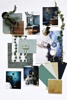 How to mood board a moody bedroom. Mood board creation for a moody bedroom. Office Inspiration, Layout Inspiration, Moodboard Inspiration, Interior Inspiration, Design Blog, Layout Design, Web Design, Interior Design Layout, Design Trends