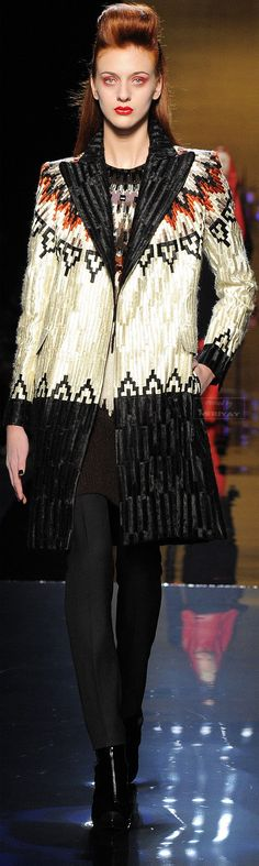 Jean Paul Gaultier Fall-winter 2014-2015.♔PM